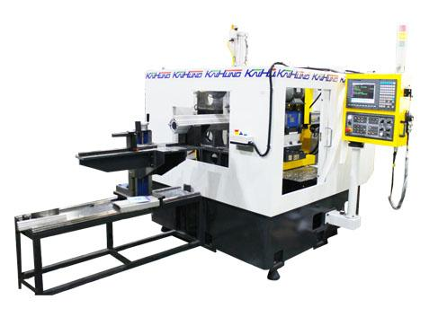 Single End Pipe Fittings CNC Processing Machine for Cylinder End Face
