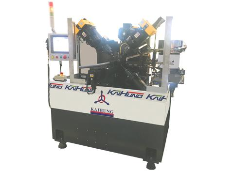 5 Spindles Drilling & Deburring Machine-Sleeve
